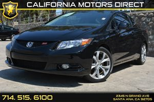 2012 Honda Civic Cpe Si Carfax Report Air Conditioning  AC Audio  Auxiliary Audio Input Conv