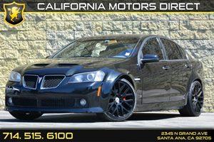 2009 Pontiac G8 GT Carfax Report Audio  Auxiliary Audio Input Audio  Premium Sound System Con