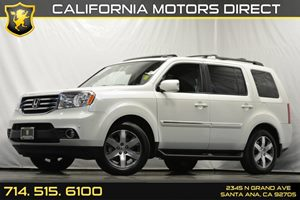 2014 Honda Pilot Touring Carfax 1-Owner Analog Display Audio  Auxiliary Audio Input Convenienc