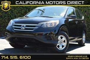 2013 Honda CR-V LX Carfax 1-Owner Audio  Auxiliary Audio Input Convenience  Back-Up Camera Co