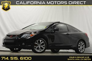2012 Honda Civic Cpe Si Carfax 1-Owner Audio  Auxiliary Audio Input Audio  Premium Sound Syste