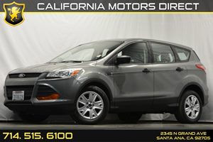 2014 Ford Escape S Carfax 1-Owner Audio  Auxiliary Audio Input Convenience  Back-Up Camera Co