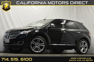 2013 Lincoln MKX  Carfax 1-Owner Audio  Auxiliary Audio Input Convenience  Keyless Start Conv