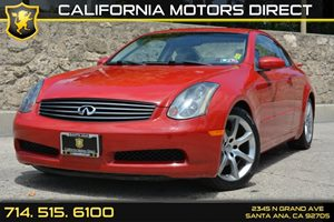 2004 Infiniti G35 Coupe wLeather Carfax Report - No Accidents  Damage Reported to CARFAX Conven