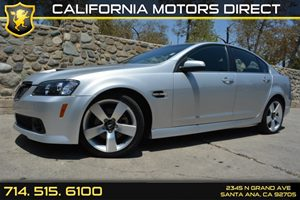2009 Pontiac G8 GT Carfax 1-Owner Audio  Auxiliary Audio Input Audio  Premium Sound System Co