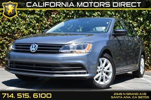 2015 Volkswagen Jetta Sedan 18T SE Carfax 1-Owner - No Accidents  Damage Reported to CARFAX Air