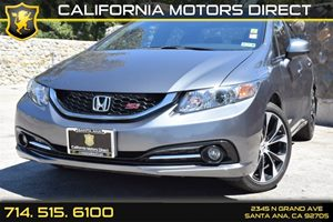 2013 Honda Civic Sdn Si Carfax Report - No Accidents  Damage Reported to CARFAX Audio  Auxiliar