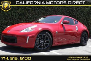 2016 Nissan 370Z  Carfax 1-Owner Audio  Auxiliary Audio Input Convenience  Cruise Control Con