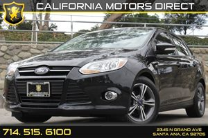 2014 Ford Focus SE Carfax 1-Owner Audio  Auxiliary Audio Input Convenience  Steering Wheel Aud