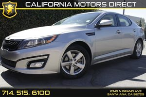 2015 Kia Optima LX Carfax 1-Owner Air Conditioning  AC Audio  Auxiliary Audio Input Audio