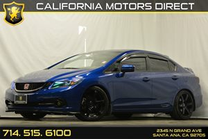 2015 Honda Civic Sedan Si Carfax 1-Owner - No Accidents  Damage Reported to CARFAX Audio  Auxil