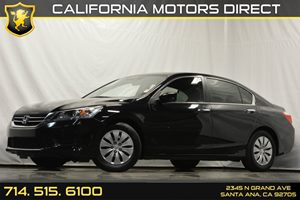 2015 Honda Accord Sedan LX Carfax 1-Owner - No Accidents  Damage Reported to CARFAX Audio  Auxi