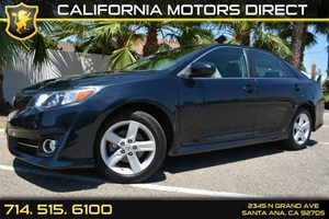 2013 Toyota Camry SE Carfax 1-Owner Audio  Auxiliary Audio Input Convenience  Steering Wheel A