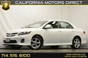 2013 Toyota Corolla S Carfax 1-Owner Audio  Auxiliary Audio Input Convenience  Cruise Control