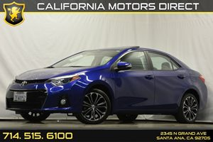 2014 Toyota Corolla S Plus Carfax Report Audio  Auxiliary Audio Input Convenience  Back-Up Cam