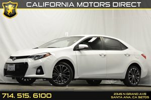 2014 Toyota Corolla S Carfax 1-Owner Audio  Auxiliary Audio Input Clearcoat Paint Convenience
