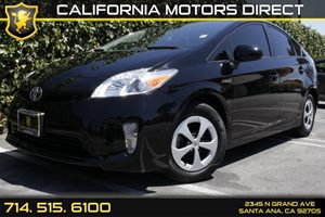 2013 Toyota Prius One Carfax 1-Owner - No Accidents  Damage Reported to CARFAX Audio  Auxiliary