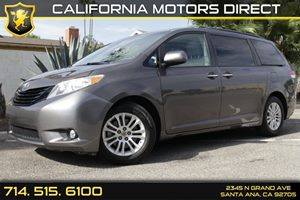 2013 Toyota Sienna XLE AAS Carfax 1-Owner Audio  Auxiliary Audio Input Convenience  Back-Up Ca