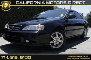 2001 Acura TL  Carfax Report Convenience  Cruise Control Convenience  Engine Immobilizer Conv
