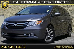 2014 Honda Odyssey Touring Carfax 1-Owner Audio  Auxiliary Audio Input Convenience  Keyless St