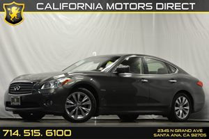 2013 Infiniti M35h Hybrid Carfax 1-Owner - No Accidents  Damage Reported to CARFAX Air Condition