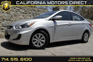 2015 Hyundai Accent GLS Carfax 1-Owner - No Accidents  Damage Reported to CARFAX Air Conditionin