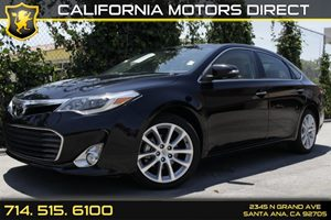 2013 Toyota Avalon Limited Carfax 1-Owner Audio  Auxiliary Audio Input Audio  Premium Sound Sy