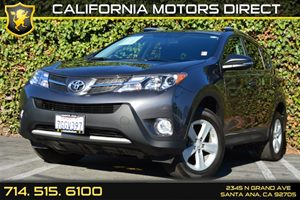 2014 Toyota RAV4 XLE Carfax 1-Owner Audio  Auxiliary Audio Input Convenience  Back-Up Camera