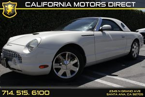 2002 Ford Thunderbird Deluxe Carfax Report - No AccidentsDamage Reported Air Conditioning  Mult