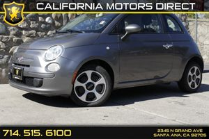 2012 FIAT 500 Pop Carfax Report - No Accidents  Damage Reported to CARFAX Air Conditioning  AC