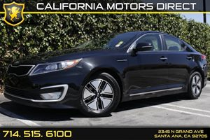 2013 Kia Optima Hybrid LX Carfax 1-Owner Audio  Auxiliary Audio Input Convenience  Intermitten