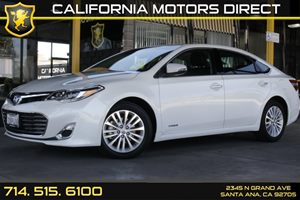 2013 Toyota Avalon Hybrid XLE Premium Carfax Report - No AccidentsDamage Reported Audio  Auxili