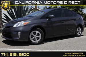 2013 Toyota Prius One Carfax 1-Owner Audio  Auxiliary Audio Input Convenience  Adjustable Stee