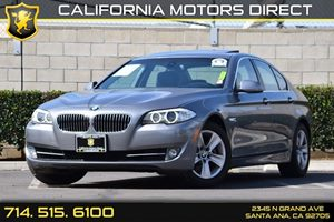 2012 BMW 5 Series 528i Carfax 1-Owner Audio  Auxiliary Audio Input Convenience  Keyless Start