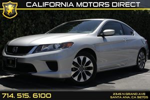 2015 Honda Accord Coupe LX-S Carfax Report Analog Display Audio  Auxiliary Audio Input Conveni