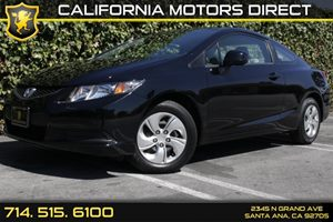 2013 Honda Civic Cpe LX Carfax Report Audio  Auxiliary Audio Input Convenience  Back-Up Camera