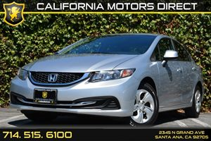 2013 Honda Civic Sdn LX Carfax Report - No AccidentsDamage Reported Audio  Auxiliary Audio Inpu