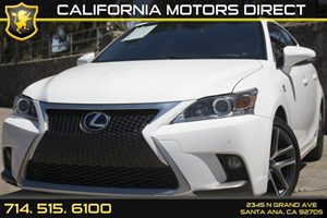 2014 Lexus CT 200h Hybrid Carfax 1-Owner Air Conditioning  AC Analog Display Audio  Auxiliar