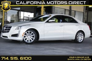 2014 Cadillac CTS Sedan Luxury RWD Carfax Report - No AccidentsDamage Reported  White Diamond