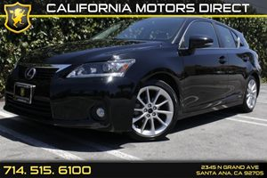 2012 Lexus CT 200h  Carfax Report - No AccidentsDamage Reported Audio  Auxiliary Audio Input A