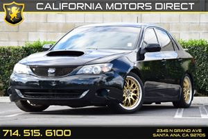 2008 Subaru Impreza Sedan WRX Carfax 1-Owner - No AccidentsDamage Reported Air Conditioning  A