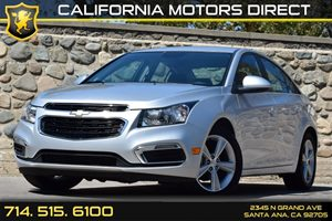2015 Chevrolet Cruze LT Carfax Report - No AccidentsDamage Reported Air Conditioning  AC Audi