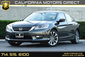 2013 Honda Accord Sdn Sport Carfax 1-Owner Audio  Auxiliary Audio Input Convenience  Back-Up C