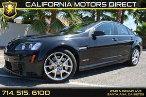 2009 Pontiac G8 GXP Carfax Report  Panther Black Metallic See our entire inventory at wwwOCMO