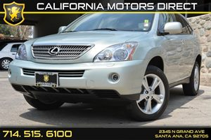 2008 Lexus RX 400h  Carfax 1-Owner Audio  AmFm Stereo Convenience  Security System Convenien