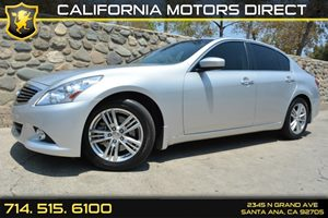 2013 Infiniti G37 Sedan Journey Carfax 1-Owner  Liquid Platinum See our entire inventory at ww