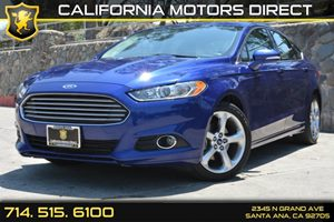 2013 Ford Fusion SE Carfax 1-Owner Audio  Auxiliary Audio Input Convenience  Cruise Control C
