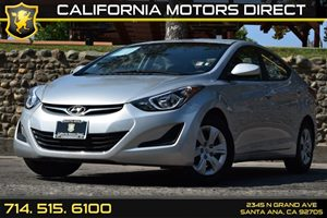 2016 Hyundai Elantra SE Carfax 1-Owner - No AccidentsDamage Reported Audio  Auxiliary Audio Inp