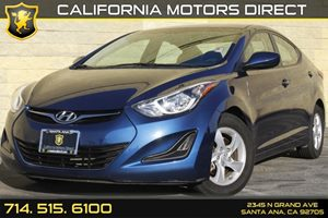 2015 Hyundai Elantra SE Carfax Report - No AccidentsDamage Reported Audio  Auxiliary Audio Inpu