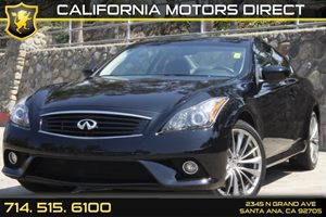 2012 Infiniti G37 Coupe x Carfax Report Audio  Auxiliary Audio Input Convenience  Back-Up Came